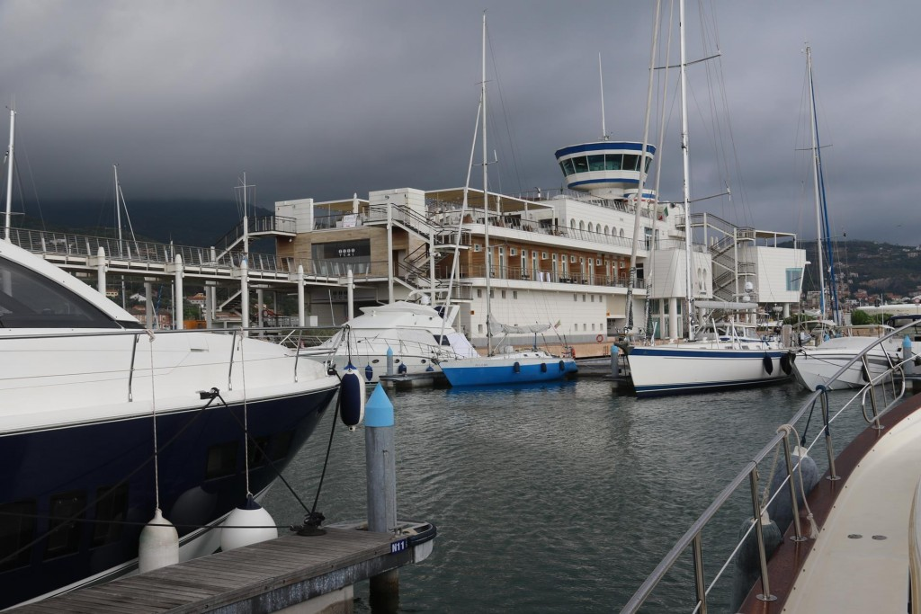 The Yacht Club Marina Di Loano was recently enlarged and redeveloped