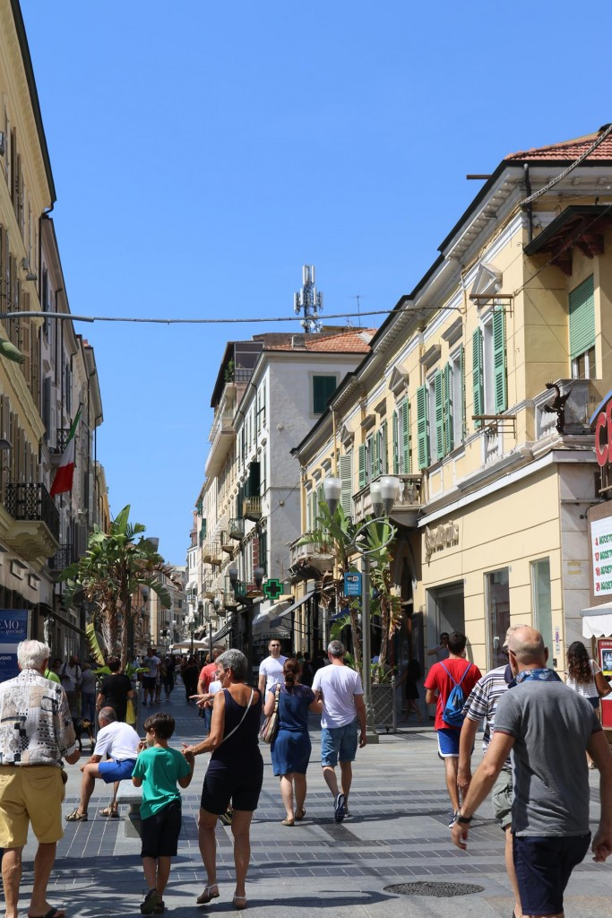 Tourism plays an important part of the economy here in San Remo
