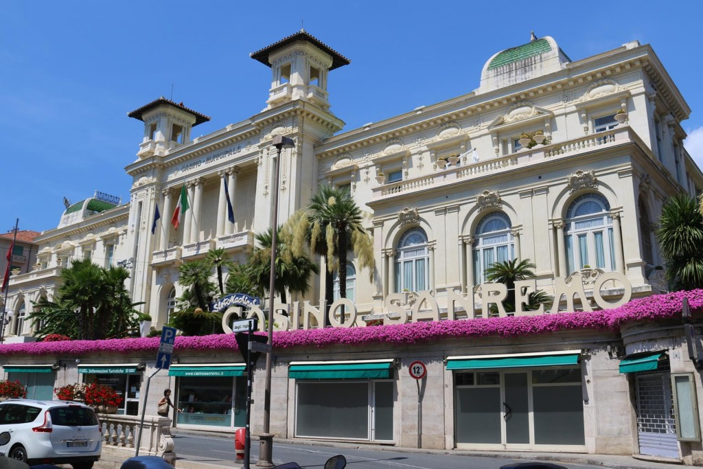 The San Remo Casino, once a famous icon of the popular town