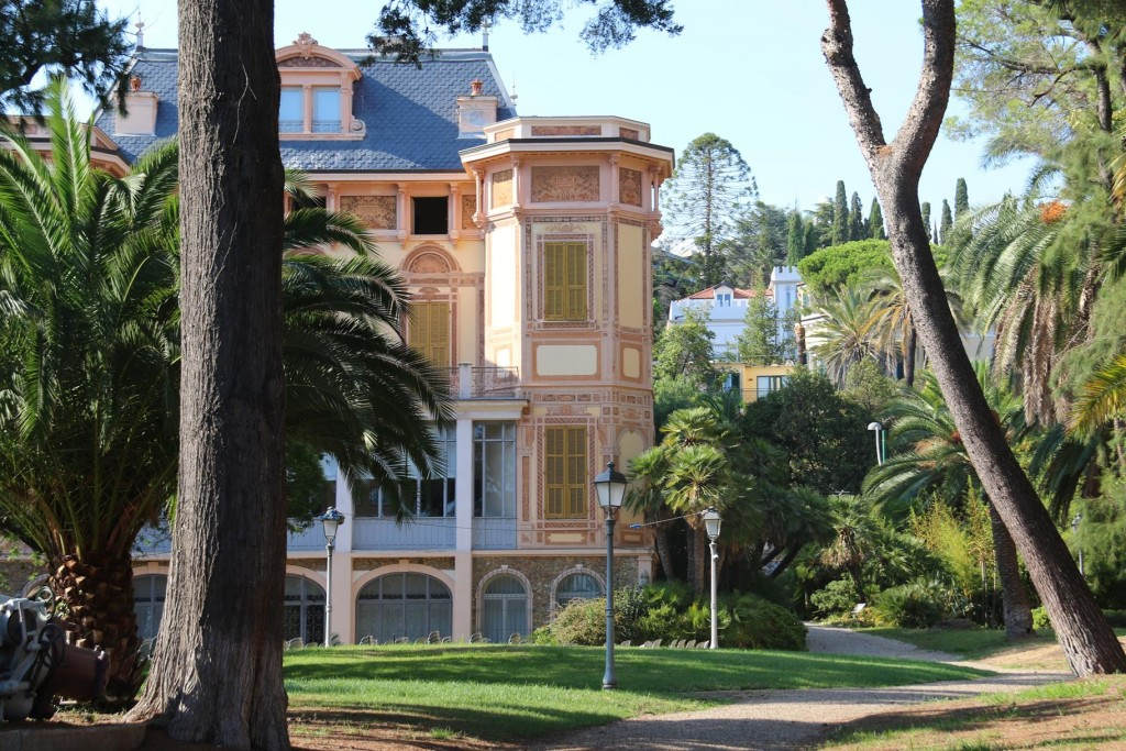 Villa Nobel on the San Remo cycleway is where the famous Alfred Nobel spent the last years of his life