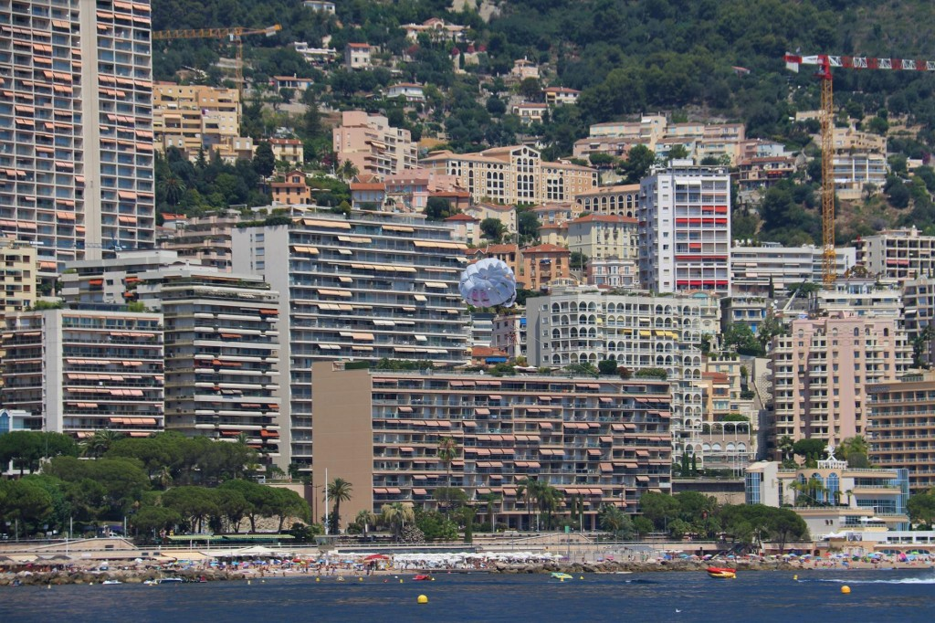Monaco is only 2.02 sq kms in size, is the 2nd smallest country in the world (Vatican no. 1) and is the most densely populated country with almost 38,000 people