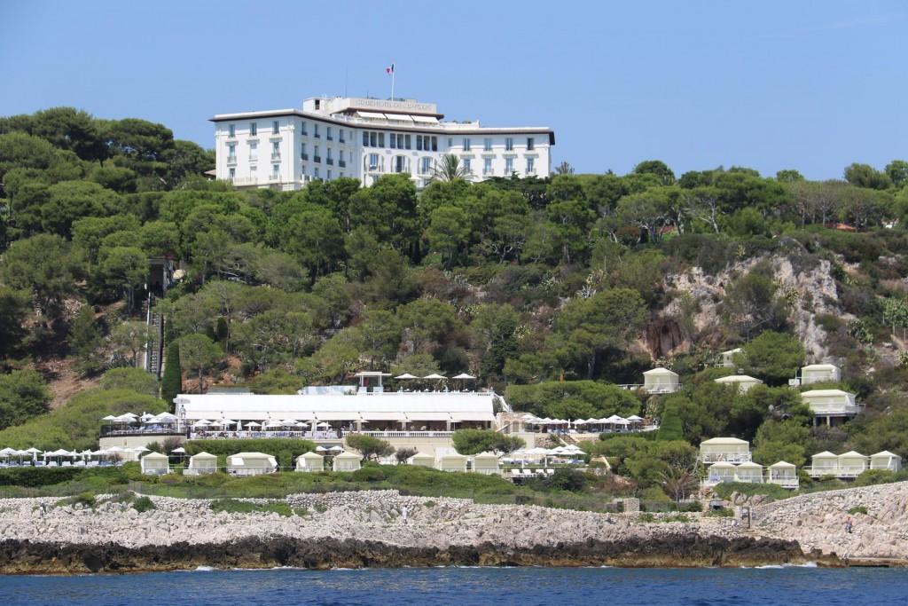 The luxurious Grand Hotel on Cap Ferrat