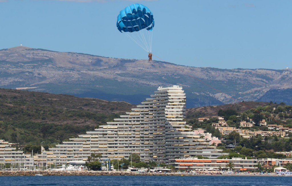 The large modern complex has a marina which is called Marina des Anges