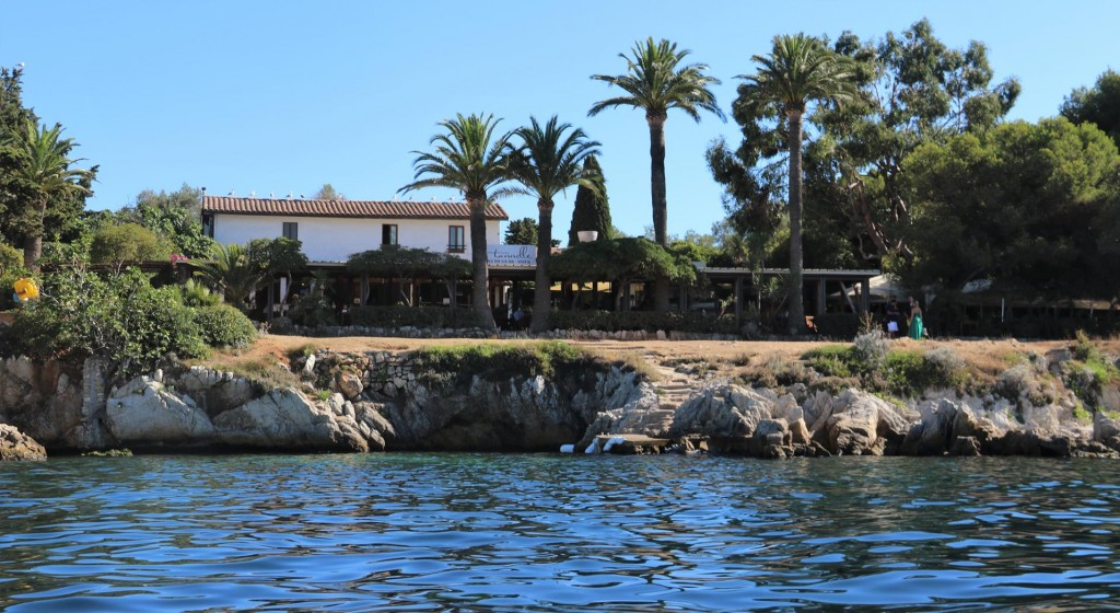 Later in the afternoon we decided to go ashore in our dinghy and have a look at the old monastery