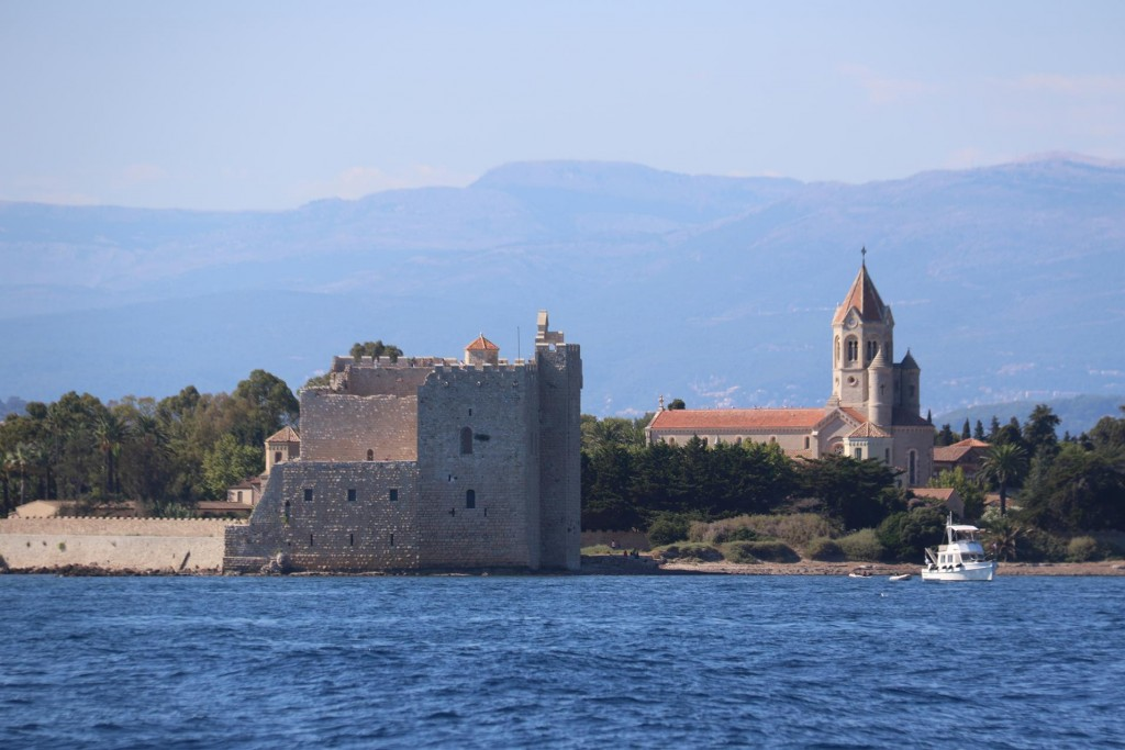 The fortified monastery was built later in 1073 by the water to protect the area from unwelcome attacks
