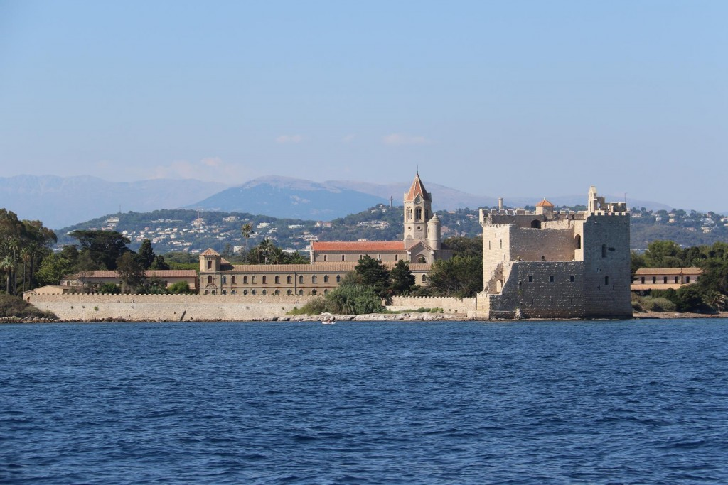 The monastery dates back to the 4th century and originally covered much of the island