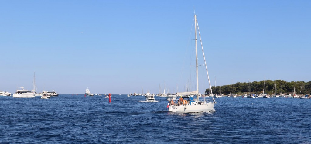 Still quite a few boats between the islands where we had a couple of lovely days