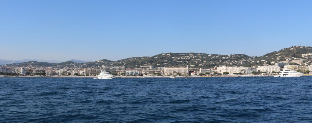 Cannes famous for it's annual film festival attracts many rich and famous visitors