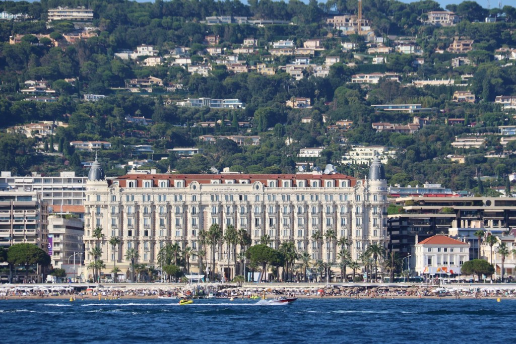 The famous Carlton Intercontinental Hotel
