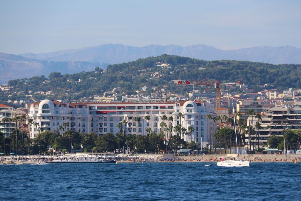 Hotel Barrière Le Majestic is a traditional hotel used by film stars visiting the Cannes Film Festival