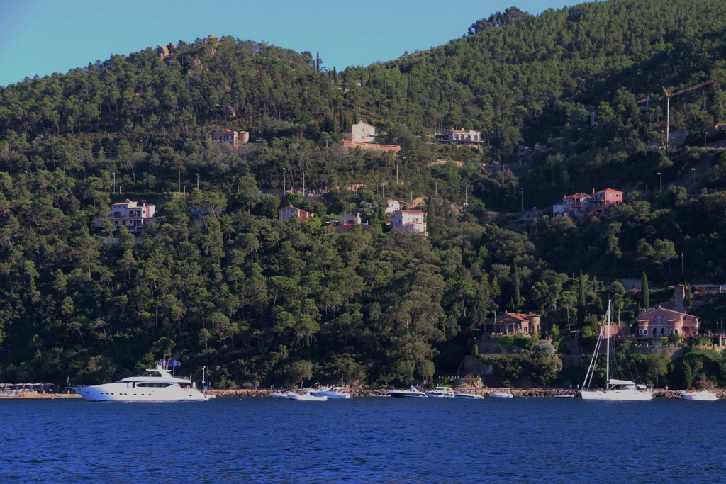 Theoule was once a fishing village and now has become a lovely retreat with delightful villas on the hillside overlooking the water