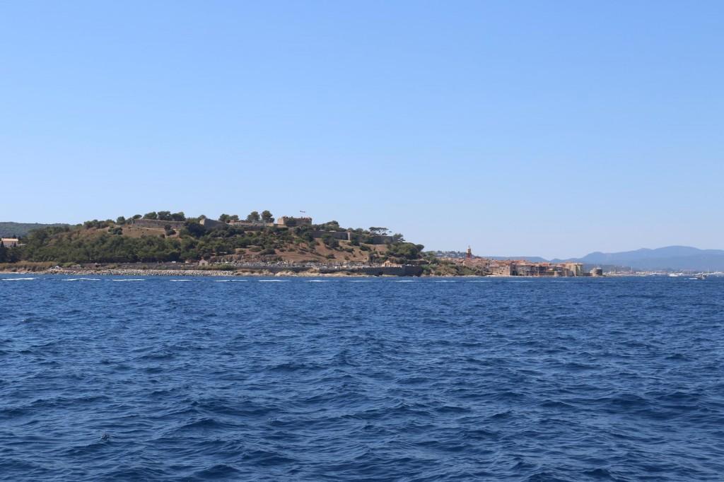 St Tropez comes into view