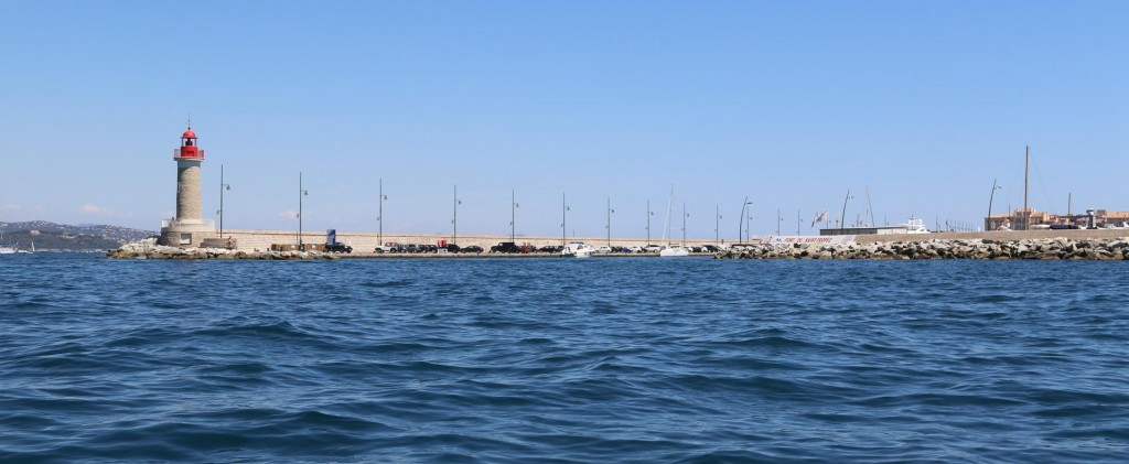 Most of the large yachts have already departed the port