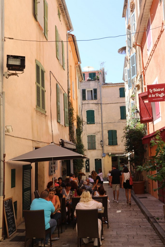 The back streets are also full of small eateries and shops