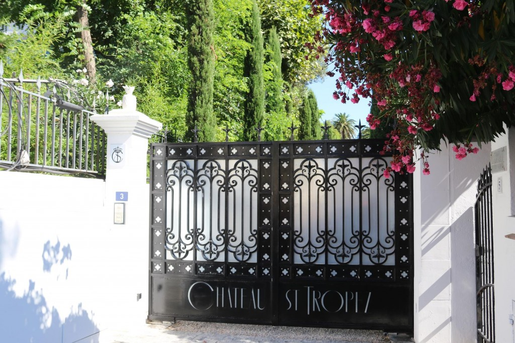 Nearby is the Chateau St Tropez - looks amazing on the internet