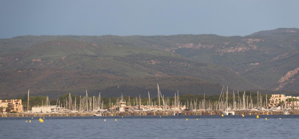 Port Grimaud was developed in the early 70's over marsh lands