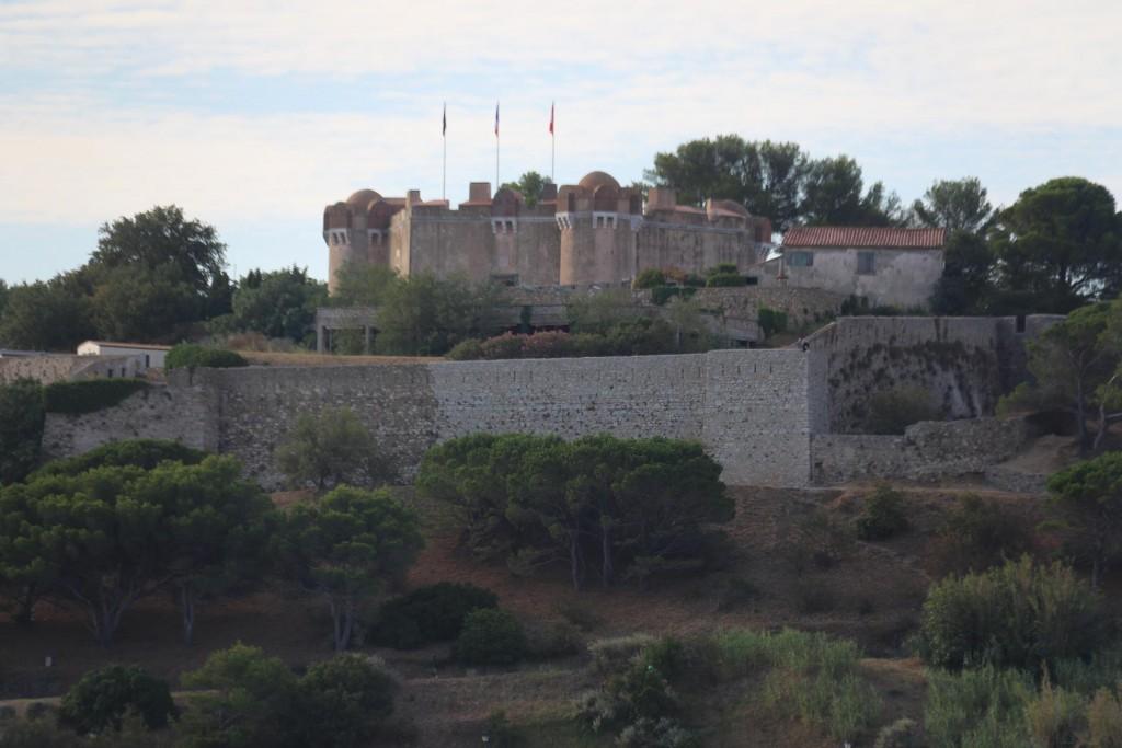 Roche de Rabiou, the citadel above St Tropez