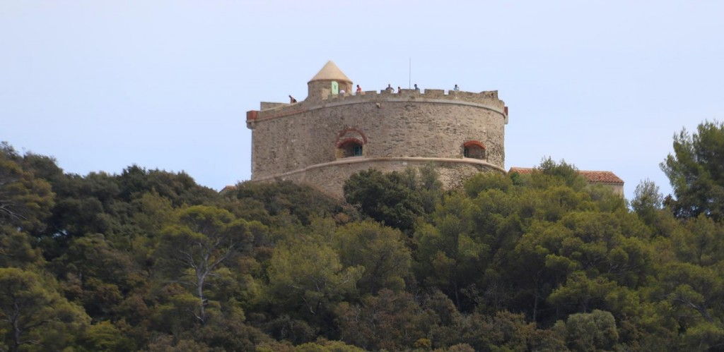 The ancient lookout is popular to visit