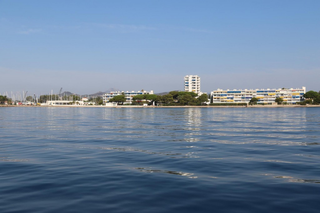 Continuing west we pass Port Miramar