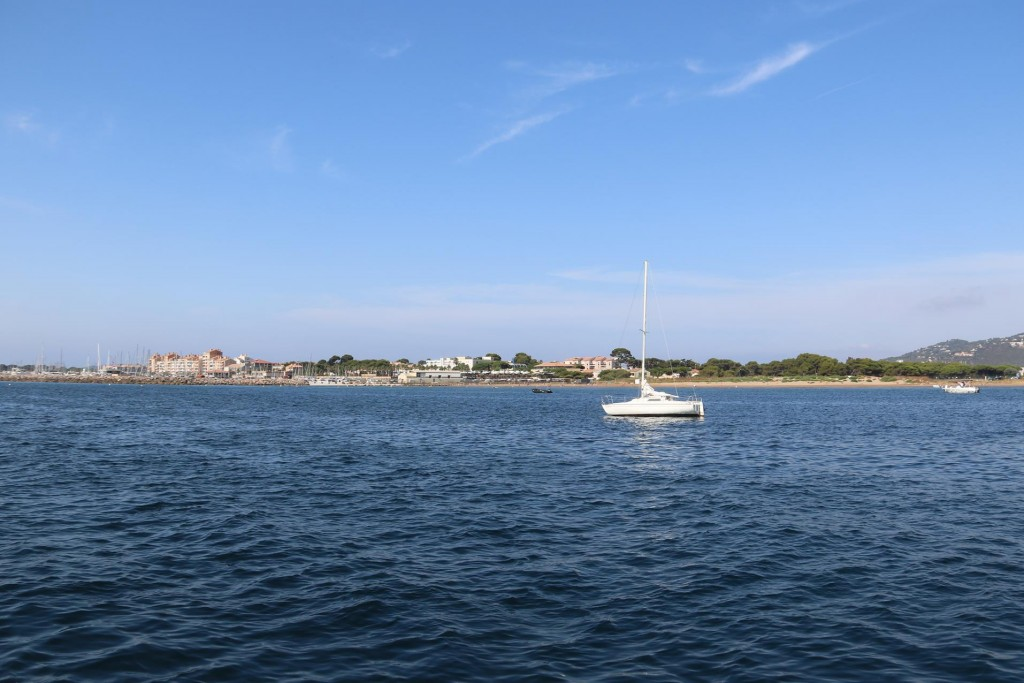 The modern extension to the old town has apartments, a marina and everything needed for a holiday in the sun by the sea
