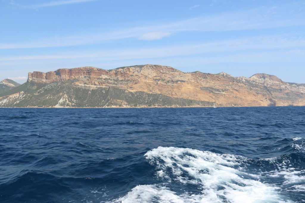 The spectacular high red cliffs of Cap Canaille east of Cassis