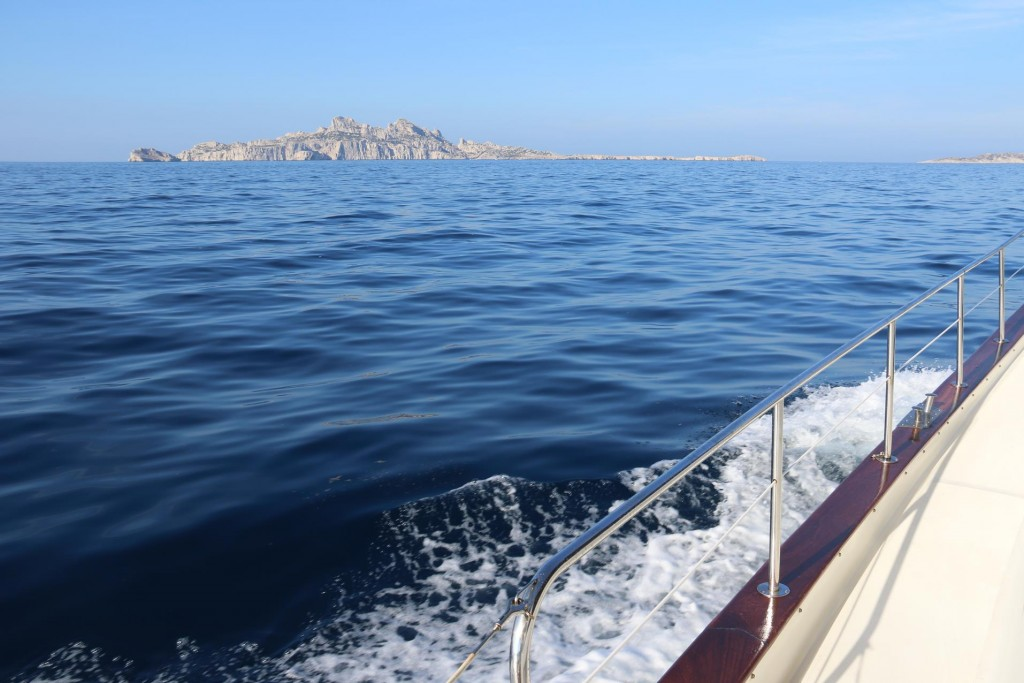 Ile Riou is the southernmost island of a small group off the coast near the calanques