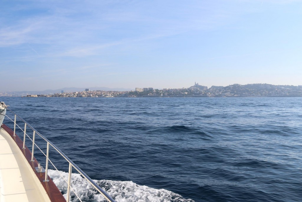 Our first glimpses of Marseille