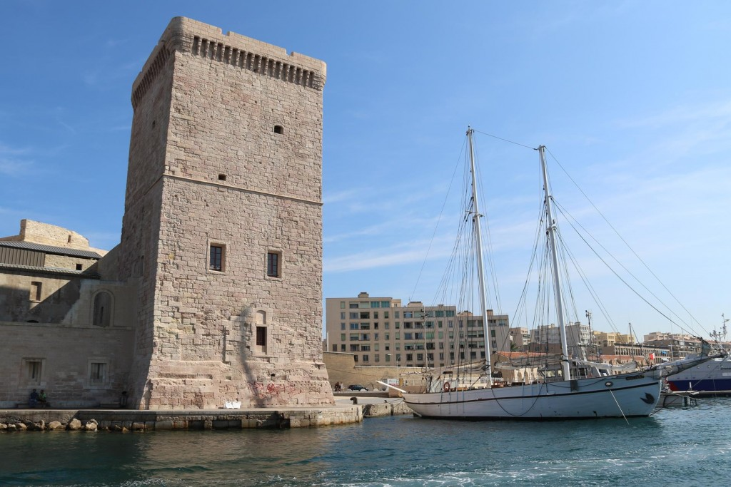 0Q1A0064 The iconic King Rene Tower at the entrance to Vieux Port was built in the 15th century (Copy)