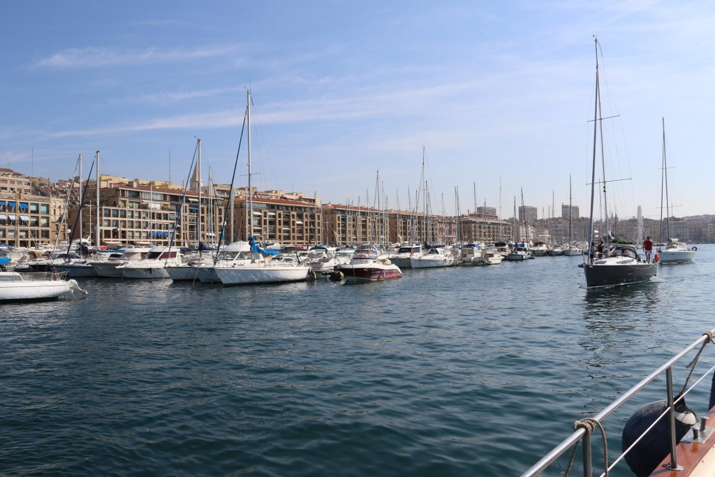Once we arrive in the port we are shown to our berth