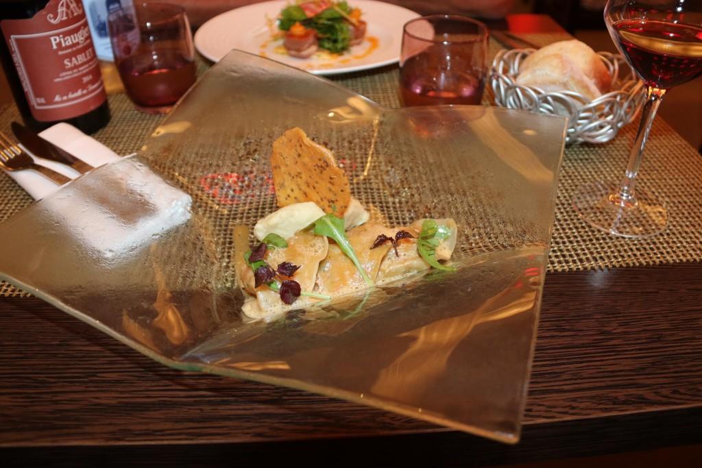 Lovely lobster ravioli