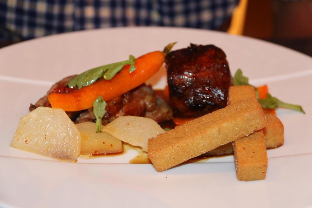 Beautiful beef with vegetables