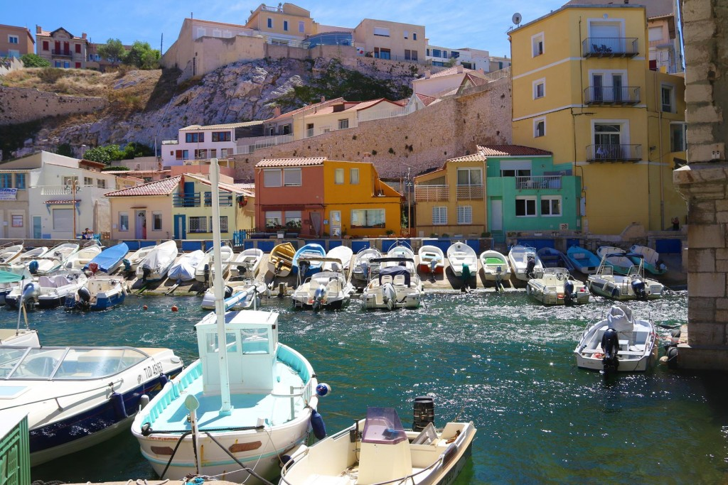 Vallon des Auffes is a small old picturesque fishing village