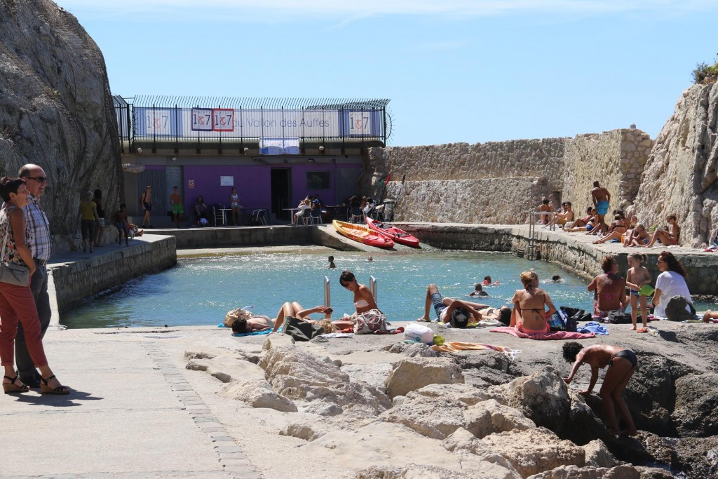 Off the tiny harbour swimming baths have been developed which is popular with the locals