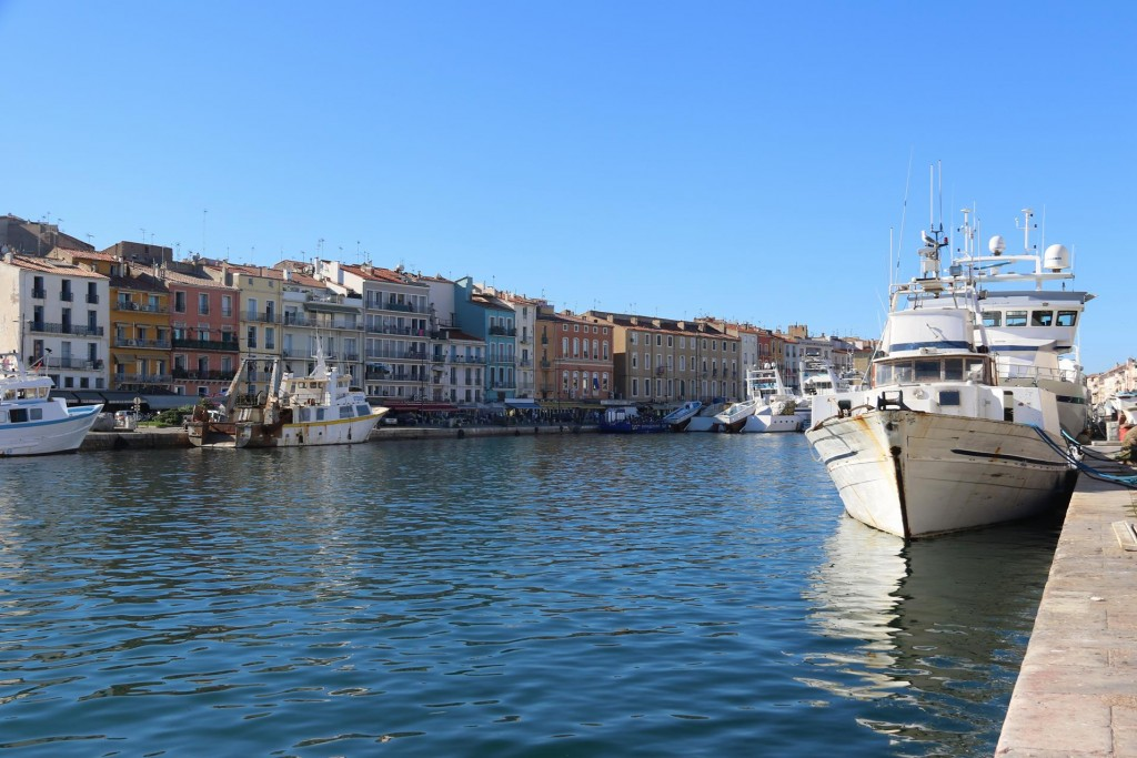 Sete is an old town which has numerous canals and is situated not far from Agde