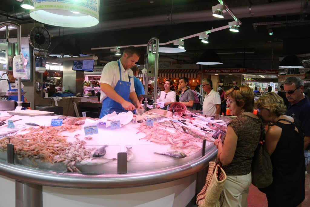 A good variety of fresh fish and seafood are available