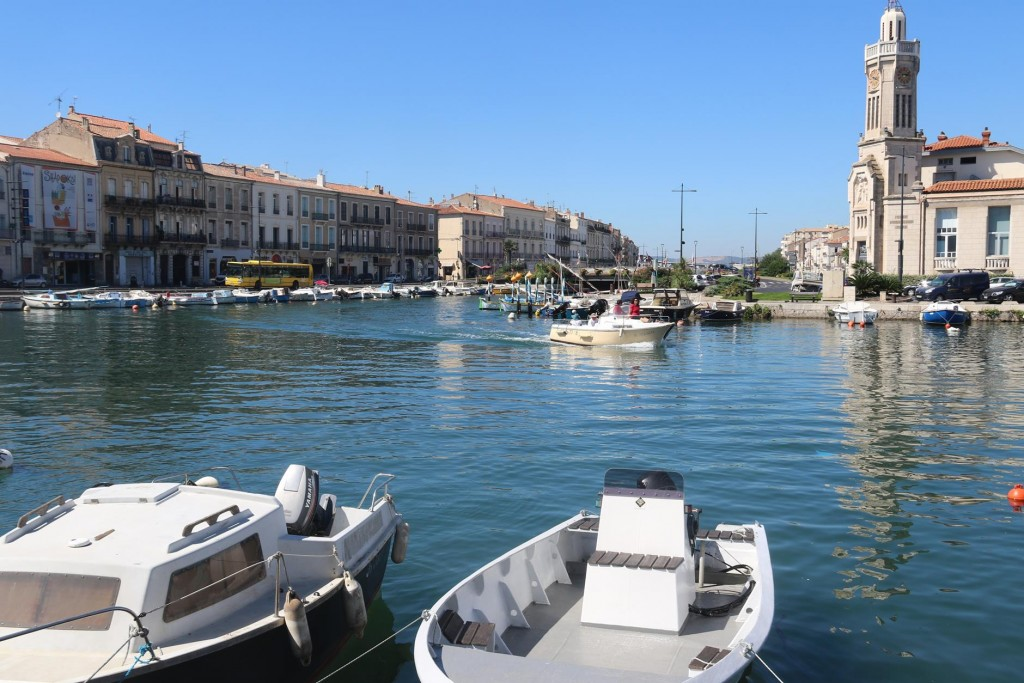 Local small craft can be found lining the shores of areas of the canals in Sete