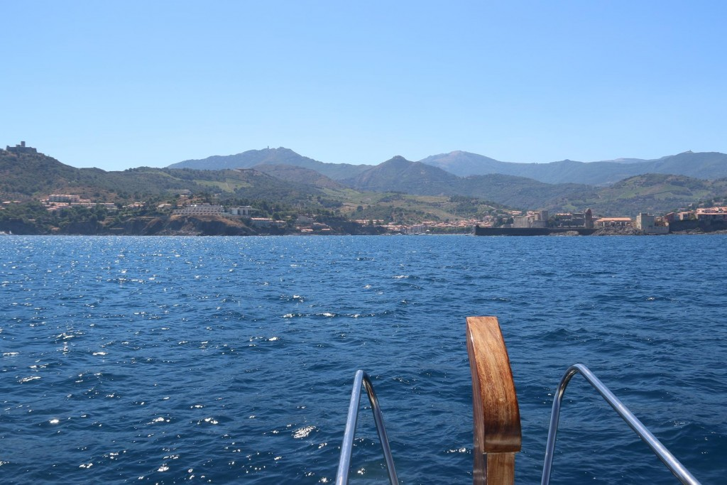 Once the mist cleared we made our way to the town of ancient town of Collioure
