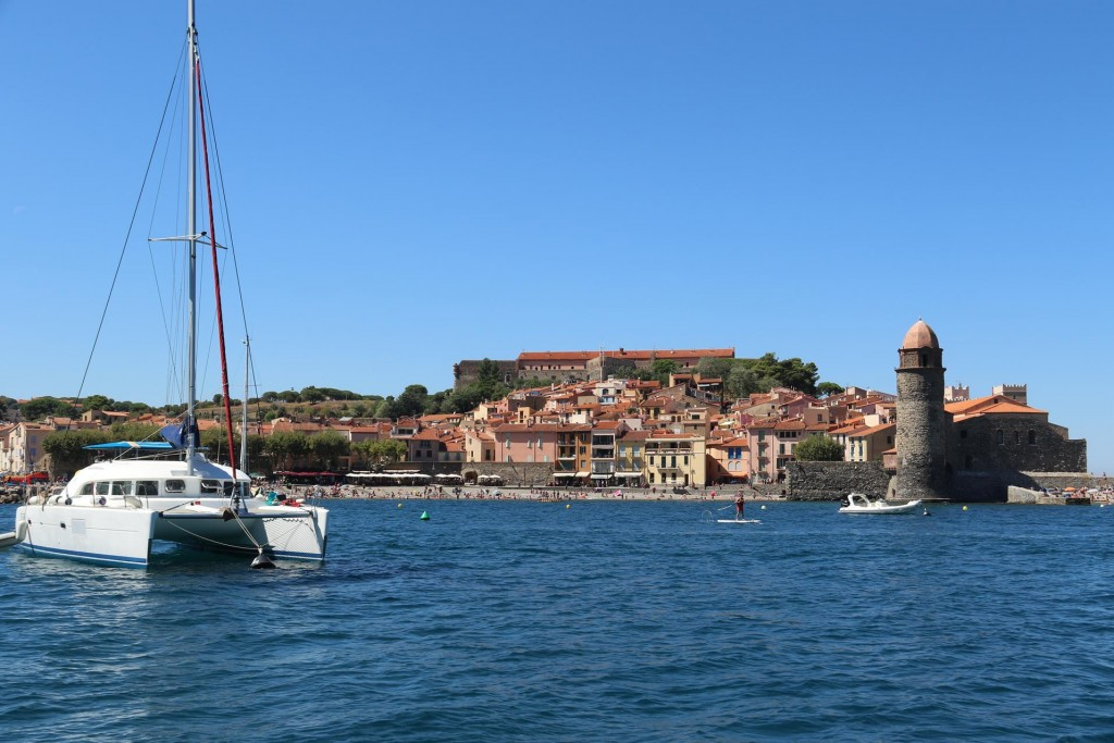 We were thrilled to be moored in the beautiful bay with  amazing 360 degree views