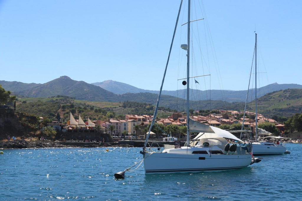 As no moorings were free we began to depart the port when we spotted a boat about to leave