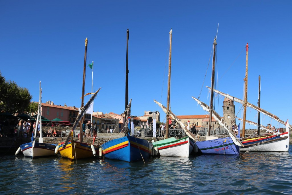 The colourful Collioure Catalan fishing boats have featured in many paintings over the centuries, even by famous artists such as Henri Matisse and André Derain who have spent time in the town
