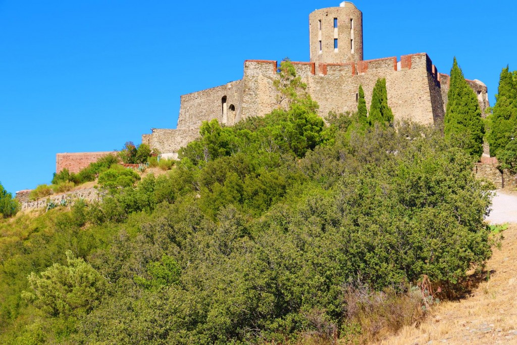 Fort Saint-Elme  is a military fort built between 1538 and 1552 by Charles V and overlooks both Collioure and Port Vendres