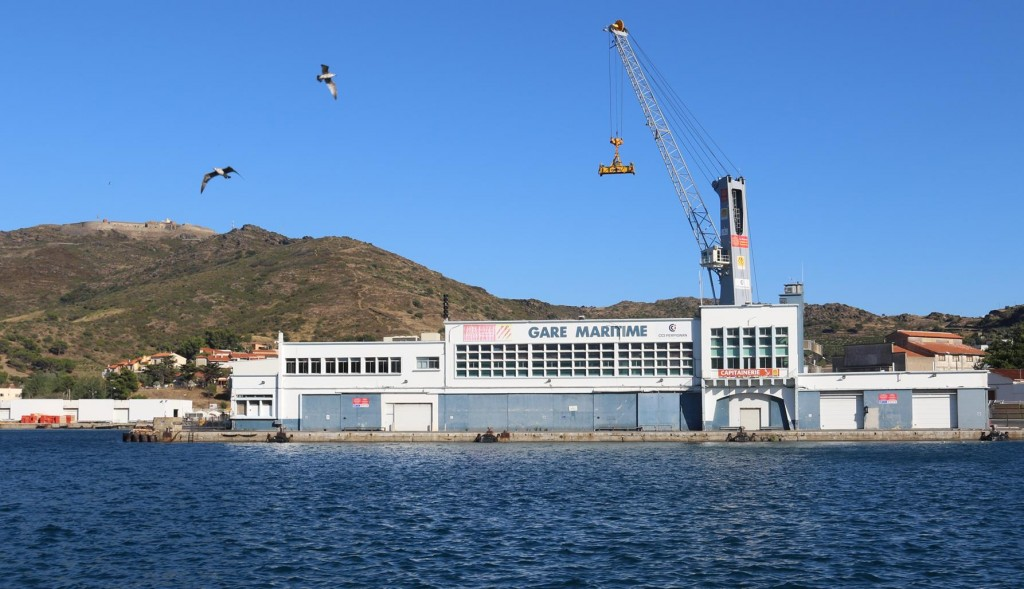 Port Vendres is a commercial  deep harbour port which can take freighters and even cruise ships