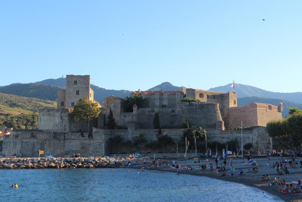 A great view of the Château Royal and the beaches