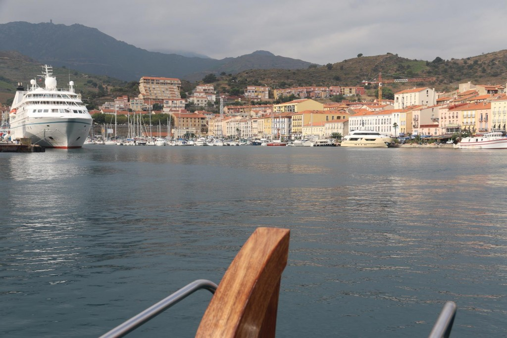 Having such a deep harbour, Port Vendres hosts many cruise ships during the busy tourist season