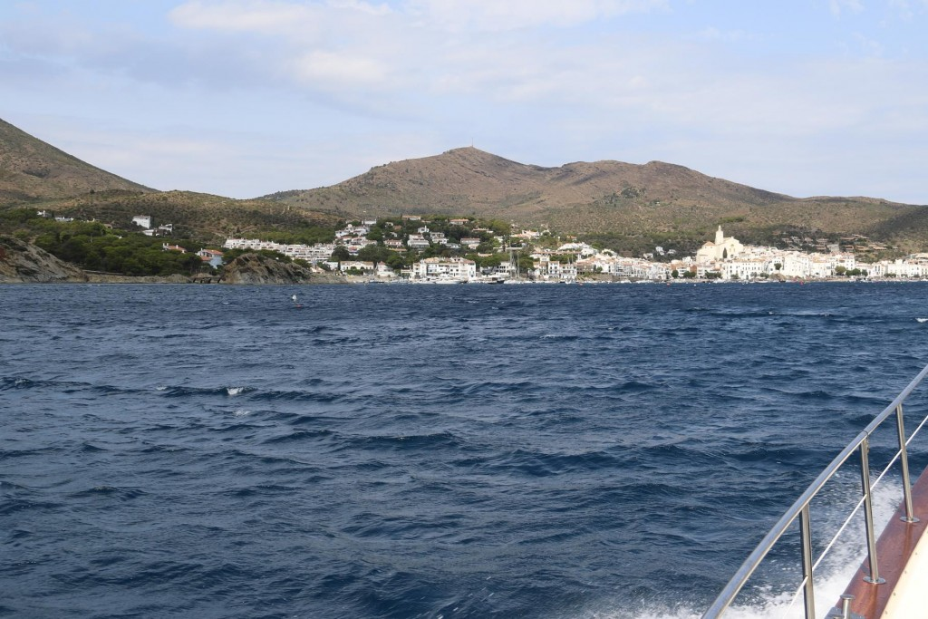 Knowing a strong wind was forecast for the next couple of days we head towards the town of Cadaques