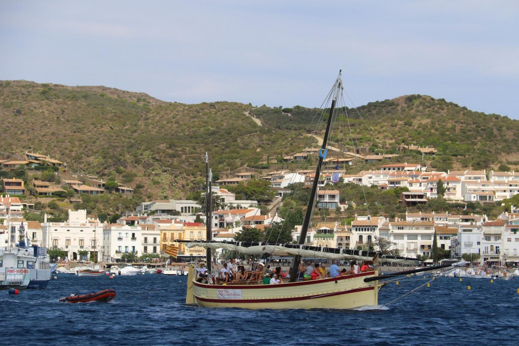 Day trips out on one of the local sailing boats is popular for visitors to the town