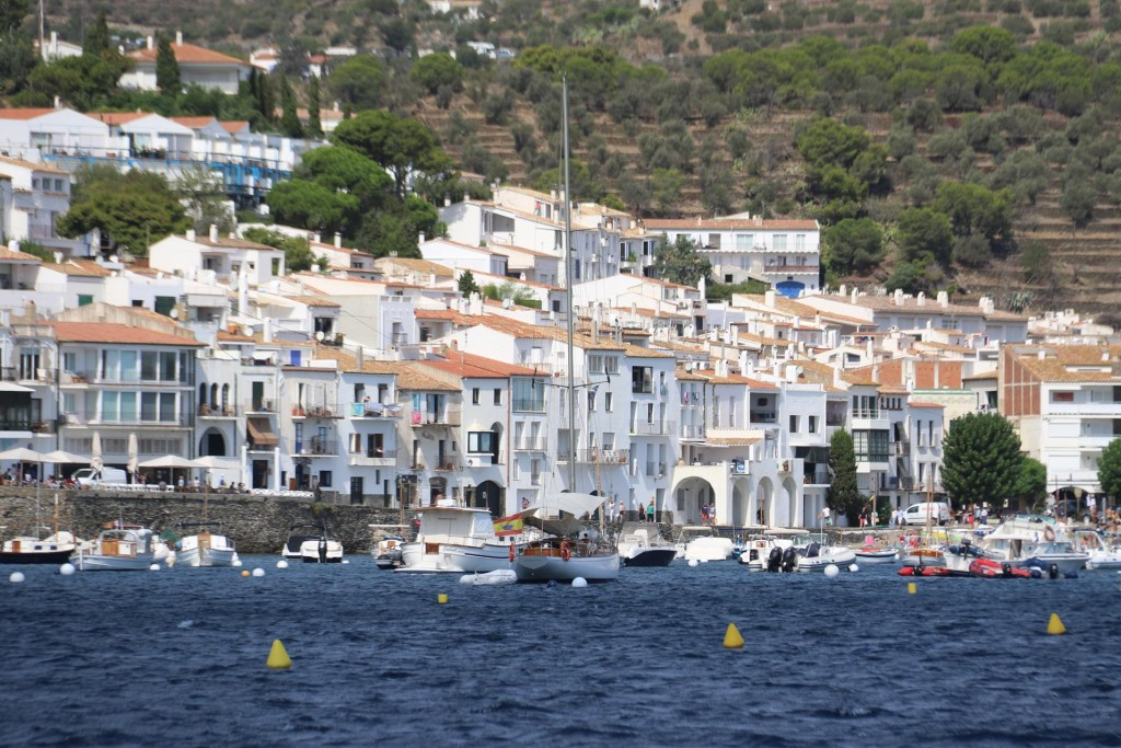 Cadaques has a small population of under 3000 people