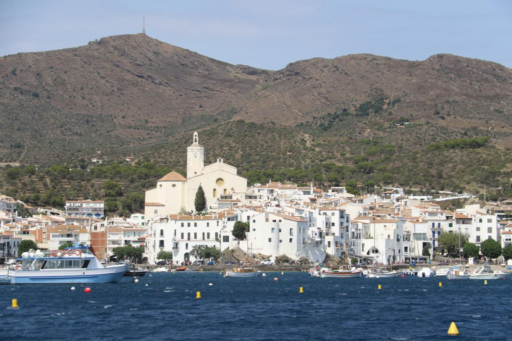 Nearing Cadaques rows of mooring buoys are available for safe overnight mooring