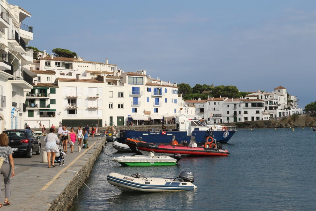 The small fishing village is often referred to as the pearl of the Costa Brava