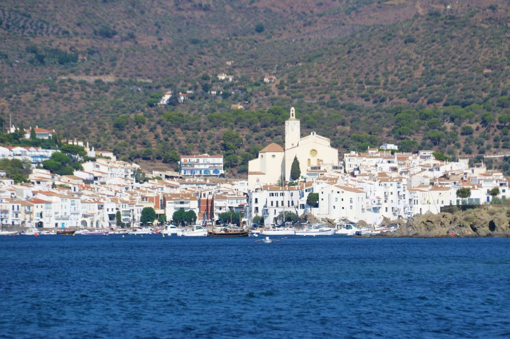 We enjoyed our couple of days on a mooring buoy in the delighful town of Cadaques